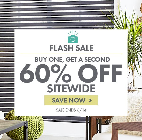 LIMITED TIME SAVINGS - BUY ONE, GET A SECOND 60% OFF SITEWIDE