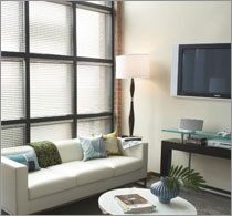 Wood Blinds Room Scene