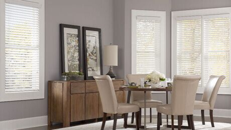 Faux Wood Blinds on Sale